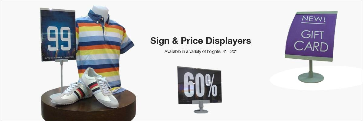Sign - Display Stands