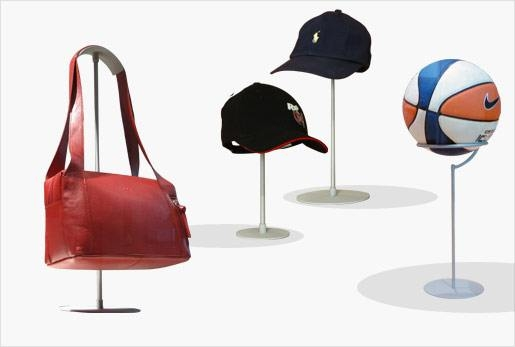 Bag, Ball, Hat - Display Stands