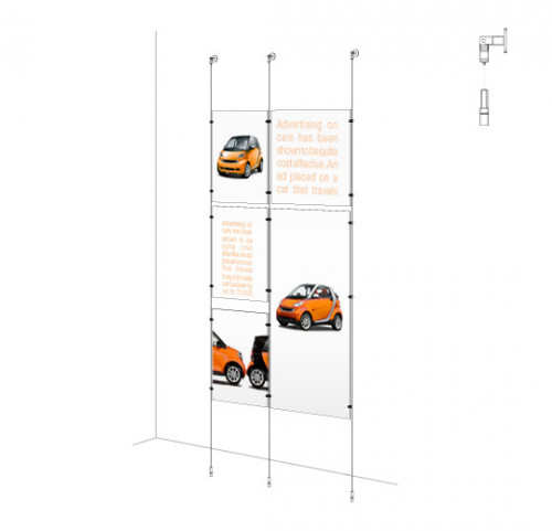 Sign Panel Kit - Wall-to-Floor