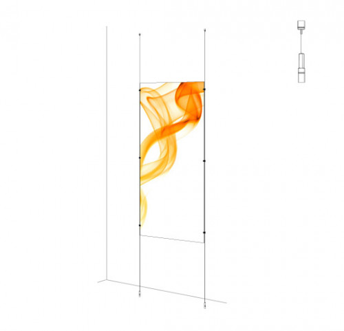 Sign Panel Kit - Ceiling-to-Floor
