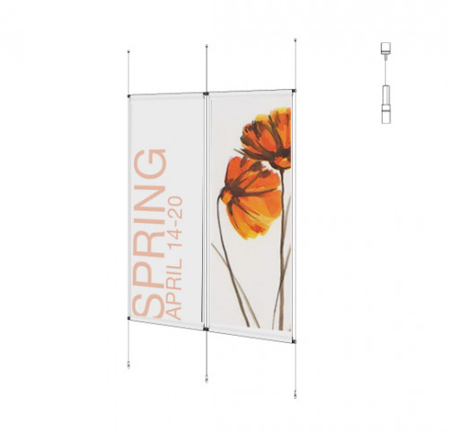 Cable Banner Kit - Ceiling-to-Floor