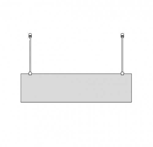 Rod Ceiling Signage Kit