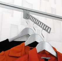 UniSlat Clothing Wall Display