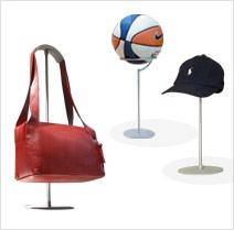 Ball Display Stand — Hat & Bag Displays