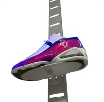 SlatStrip Shoe Wall Displays