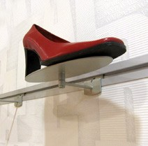 Slatwall Shoe Displayers