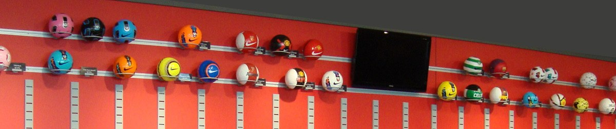 Slatwall Product Displayers