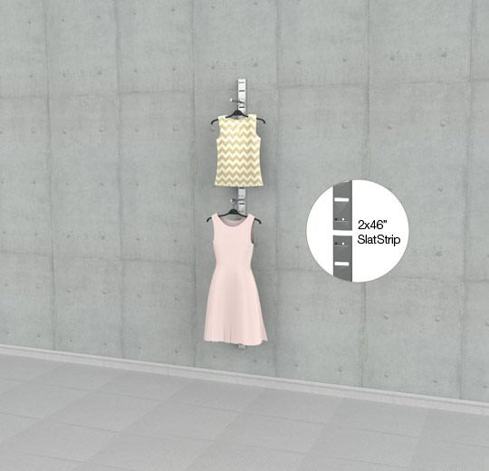 """Two 46"""" SlatStrip 