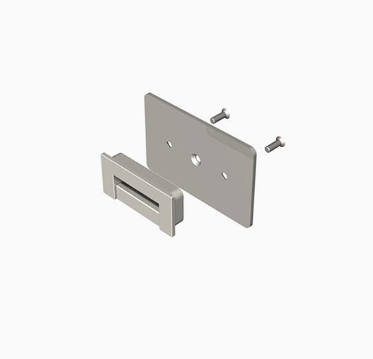 All SlatWall Fixture Holder for Wood Panels - Soloslat