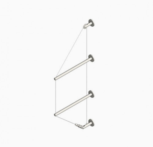 Cable Shelving Displays Kit, Wall Mounted