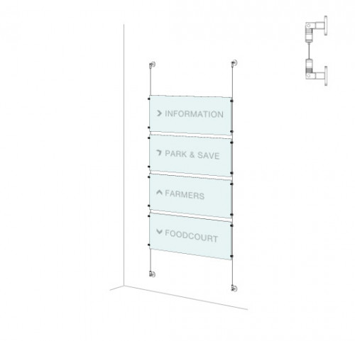Directory Sign Kit  - Wall-to-Wall