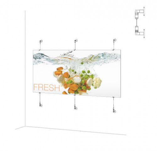 Horizontal Sign Panel Kit