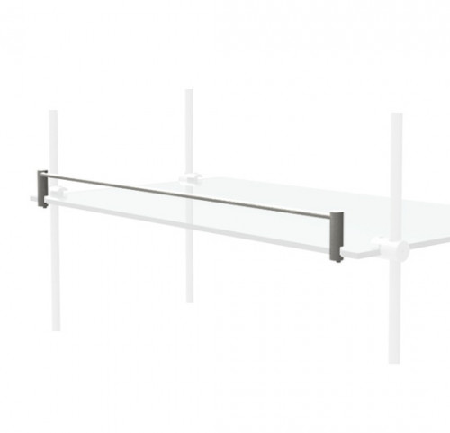 "Shelves Stopper for 24"" Glass Shelve"