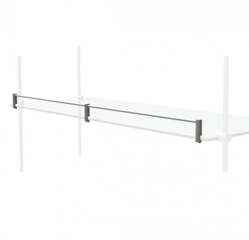 "Shelves Stopper for 36"" Glass Shelve"