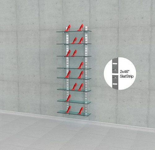 "Four 46"" SlatStrip 