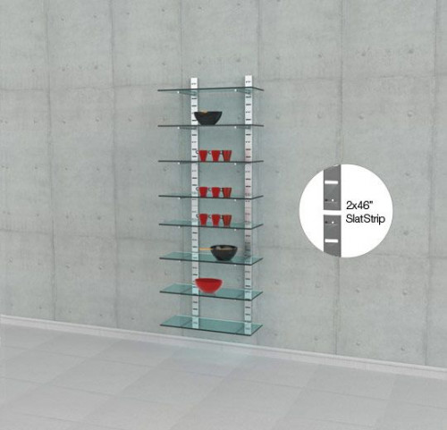 """Four 46"""" SlatStrip 
