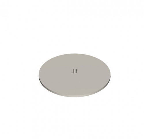 "Round Base/Top-D10cm(4"")"