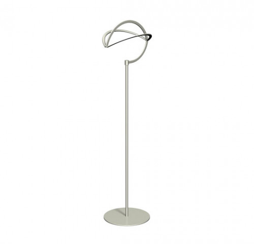 "Countertop Hat Displayer, 20"" High Satin Platinum Finish  - Impax"