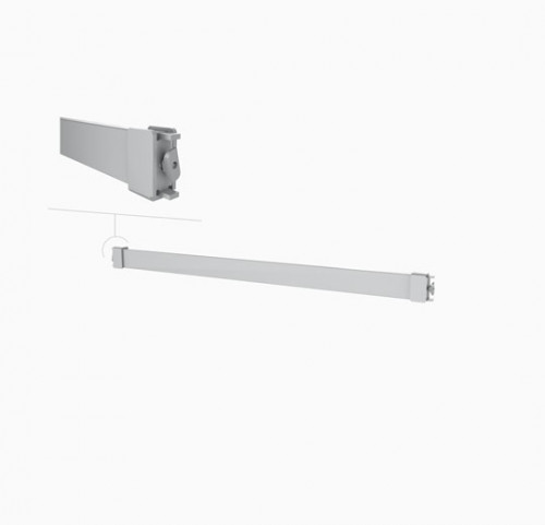 "Hanging Rail 24"" Rectangular Tube - Palo"