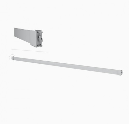 "Hanging Rail 36""-48"" Rectangular Tube - Palo"