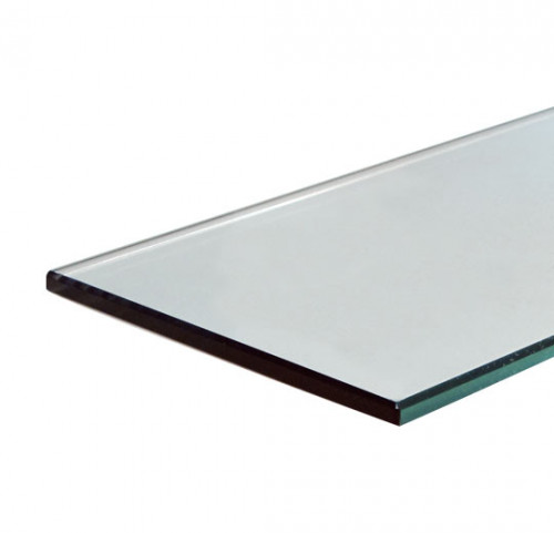"12""x24""x1/4"" Tempered Glass Shelves - Clear"