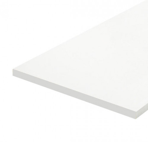 "12""x36""x3/4"" Melamine (MDF) Shelves - White"