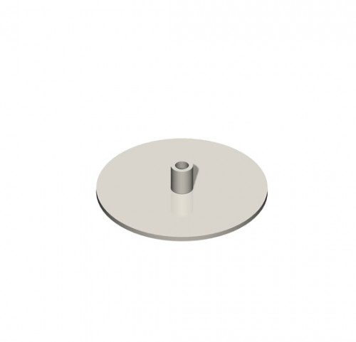 Countertop Displayer Base Plate D 4""