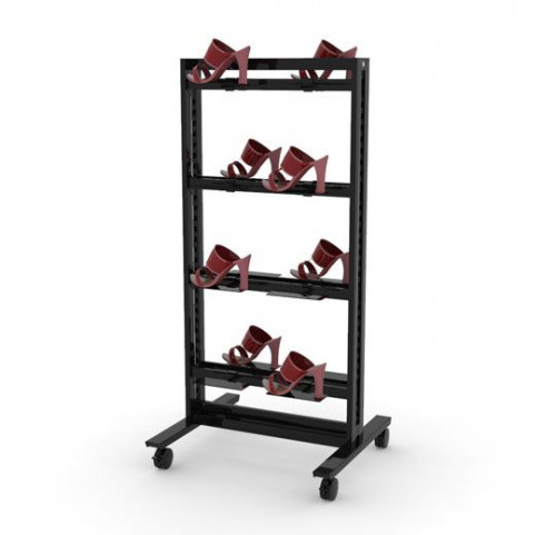 """26"""" Stand for 16 Shoe Display 