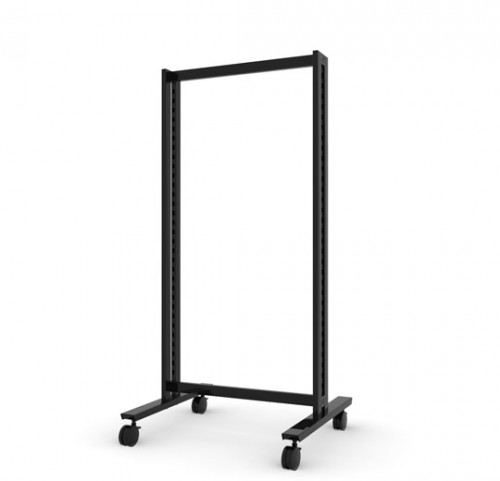 Floor Stand Base Unit, Black Brown - Vertik