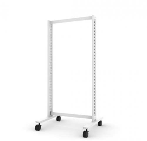Floor Stand Base Unit, White - Vertik