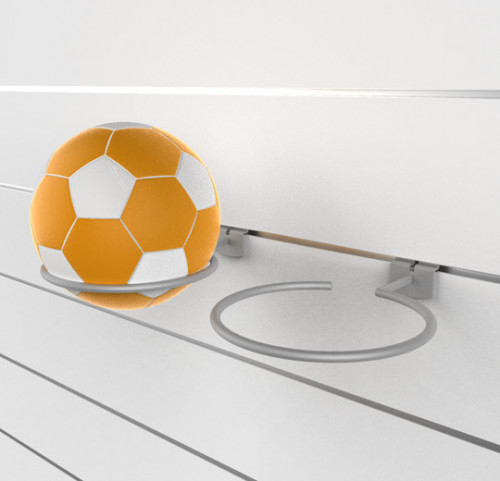 SlatWall Ball Displayer