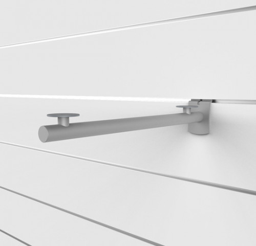 "SlatWall 14"" Bracket for Wood Shelves - Concepto"
