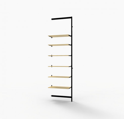Vertik -  Dark Brown Extention Kit for 6 Shelves