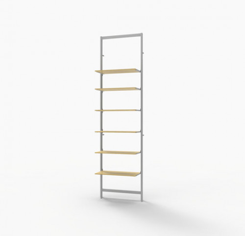 Vertik -  Base Kit for 6 Shelves White