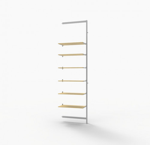 Vertik -  Extention Kit for 6 Shelves White