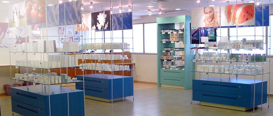 <strong>Tube </strong> <br>Cosmetic<br>Displays