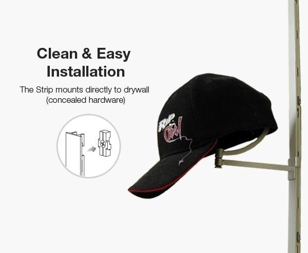 Clean & Easy Installation