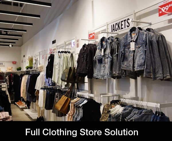 Full Clothing Store Solution
