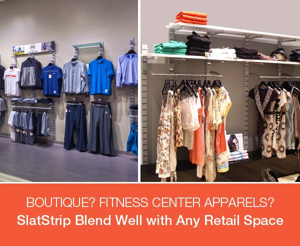 Blend Well with Any Retail Space