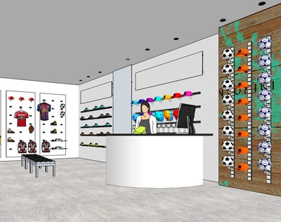 Sporting Goods Store Concept