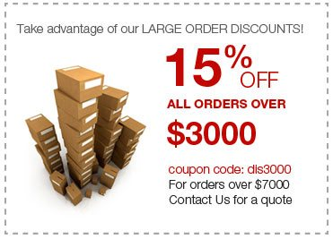 Large order discount
