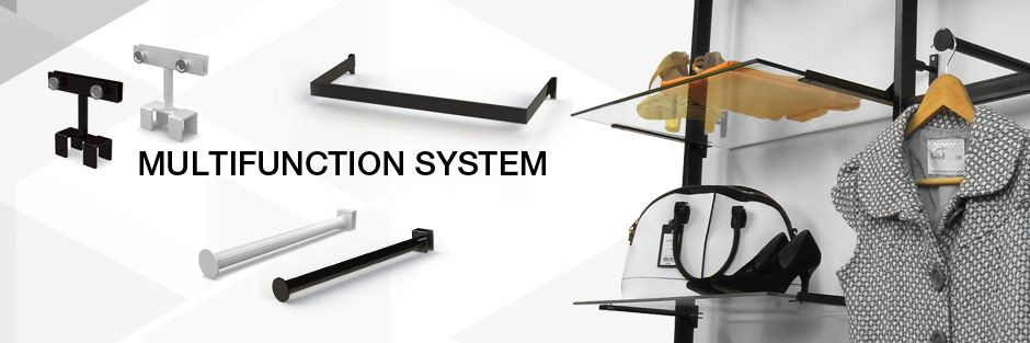 Vertik System Accessories and Shelving. Wide Variety and Excellent Quality from Creative Store Solutions.
