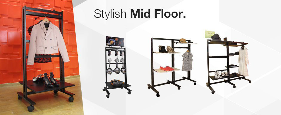 Mid Floor | Clothing & Shelving