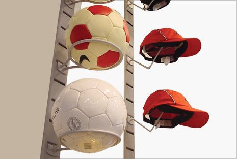 Bag, Ball, Hat Displayers